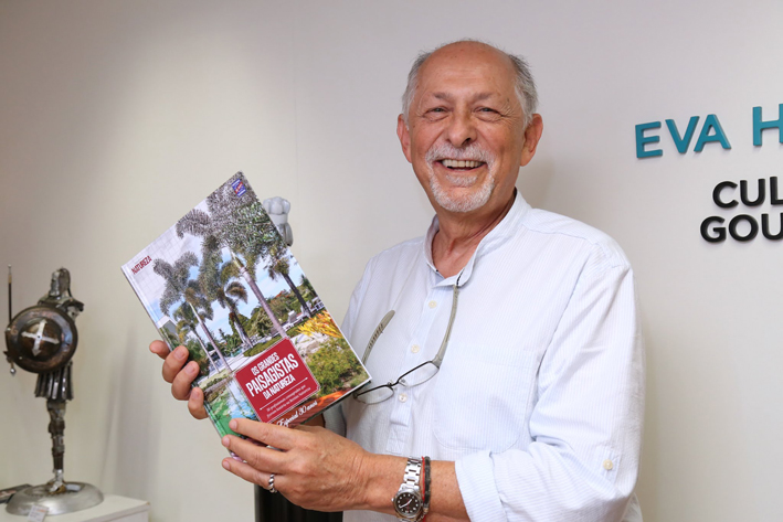 """Lançamento do livro """"Os Grandes Paisagistas da Natureza"""""""