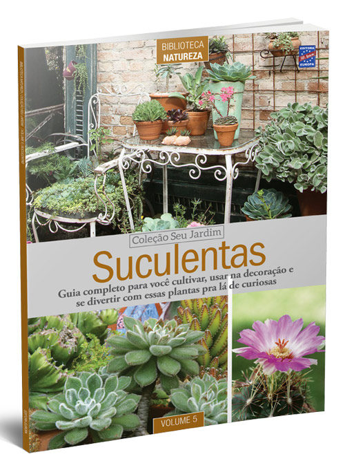 Coleção Seu Jardim: Suculentas