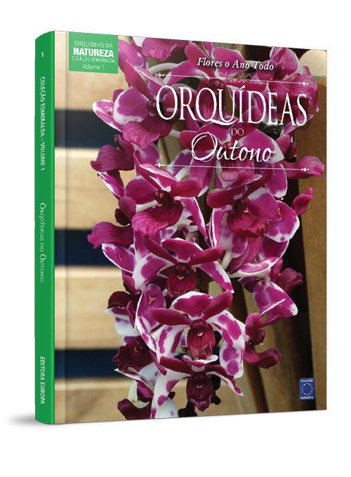 Coleção Esmeralda: Orquídeas do Outono