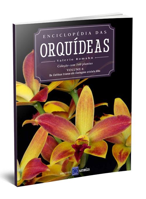 Enciclopédia das Orquídeas - Volume 6