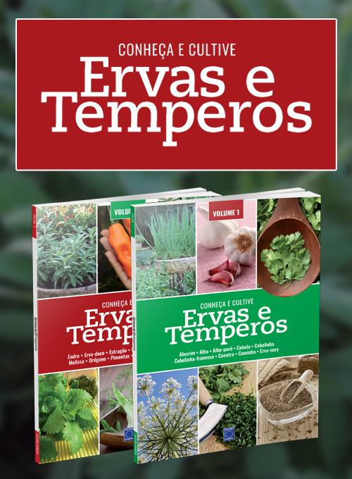 Coleção Ervas e Temperos: Conheça e Cultive
