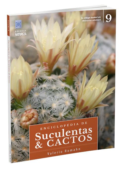 Enciclopédia de Suculentas e Cactos - Volume 9