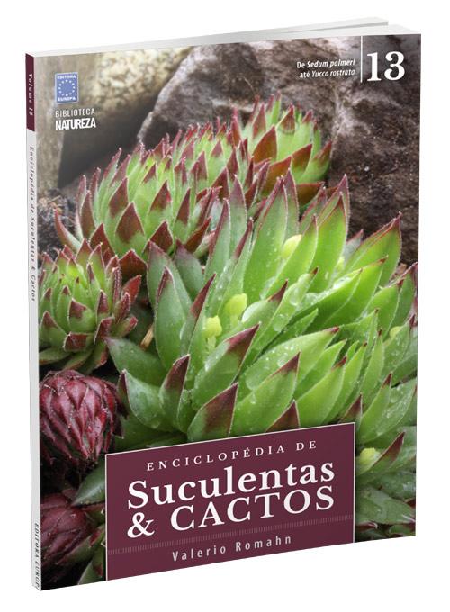 Enciclopédia de Suculentas e Cactos - volume 13
