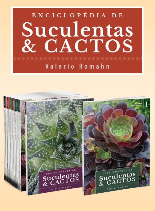 Enciclopédia de Suculentas e Cactos - 13 Volumes