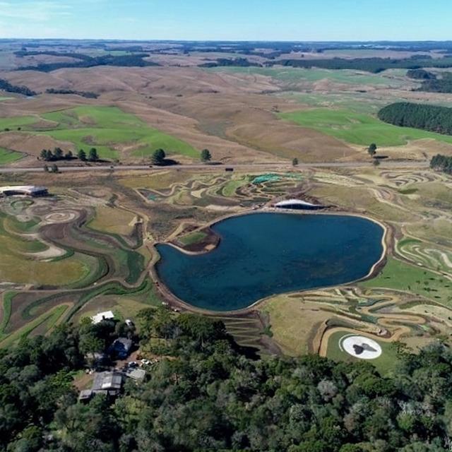 Vista aérea do Parque Matria
